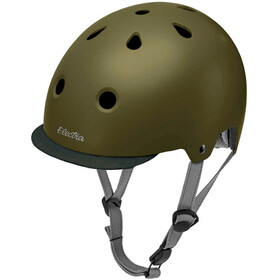 Electra Solid Color Bike casco per bici verde oliva